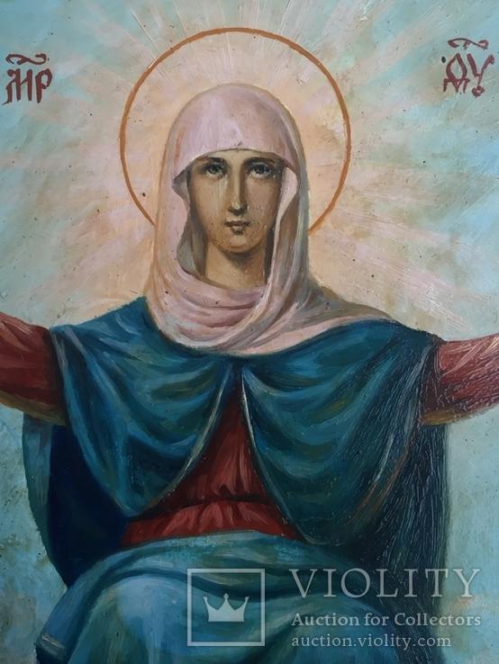 Икона Спорительница Хлебов, фото №9