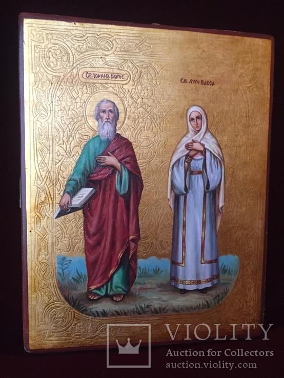 Икона Иоанн и Васса, фото №3