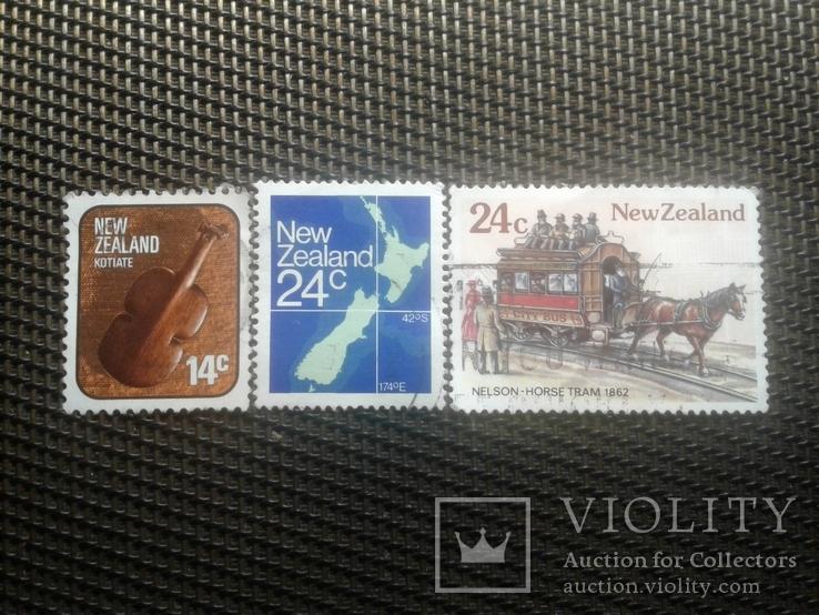 Марки Нова Зеландия