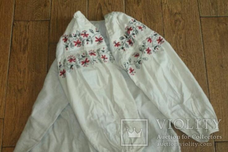 Сорочка вышиванка старинная №28, фото №2