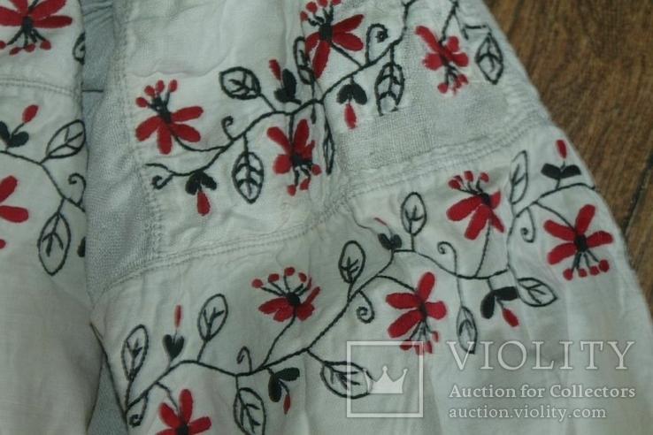Сорочка вышиванка старинная №28, фото №5