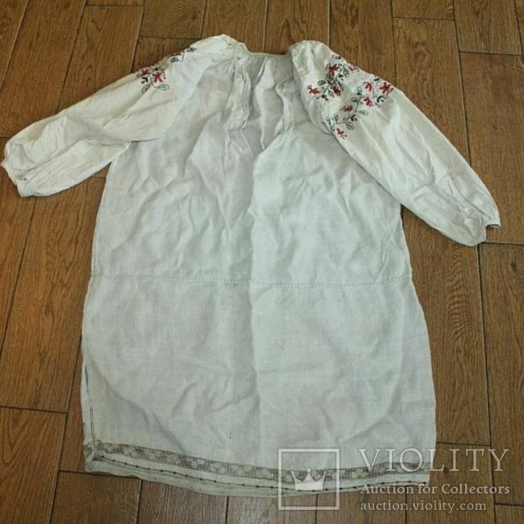 Сорочка вышиванка старинная №28, фото №9