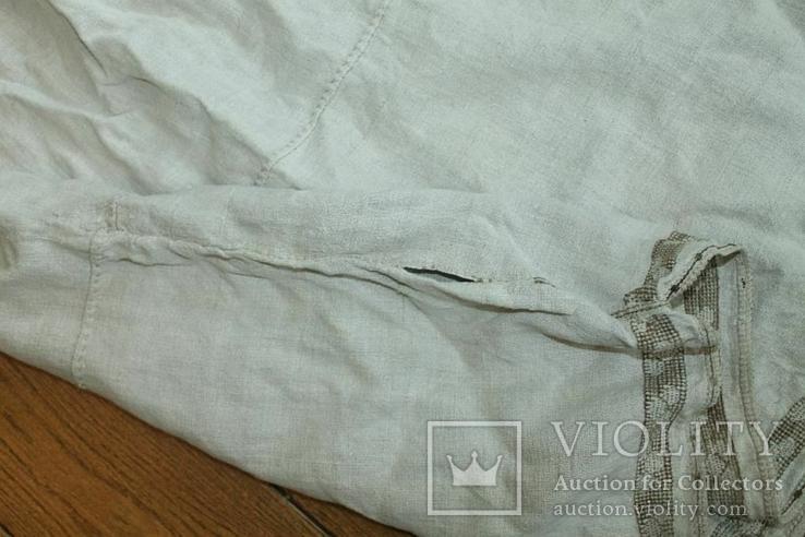 Сорочка вышиванка старинная №28, фото №11