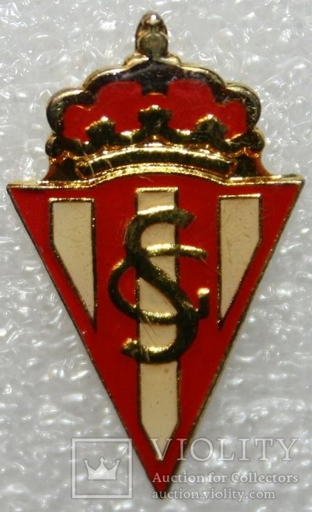 "Знак футбольного клуба ""Спортинг Хихон"" (Испания), фото №2"