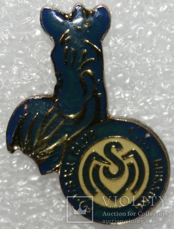 """Знак футбольного клуба """"Дуйсбург"""" (Германия), фото №3"""