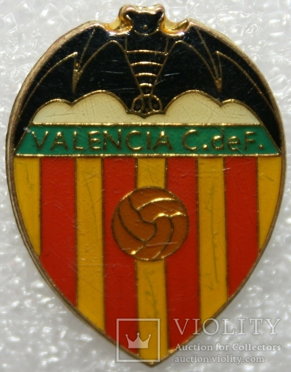 "Знак футбольного клуба ""Валенсия"" (Испания), фото №2"