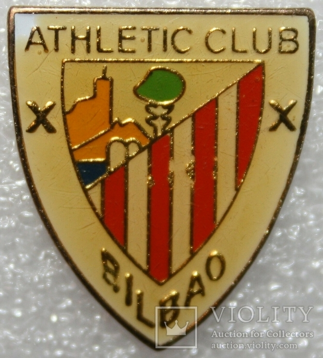 """Знак футбольного клуба """"Атлетик Бильбао"""" (Испания), фото №2"""