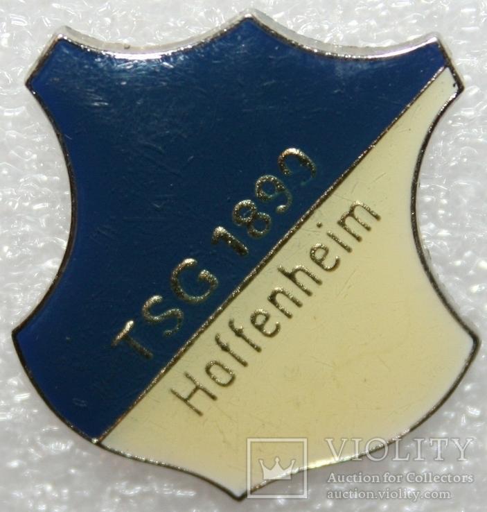 """Знак футбольного клуба """"Хоффенхайм"""" (Германия), фото №2"""