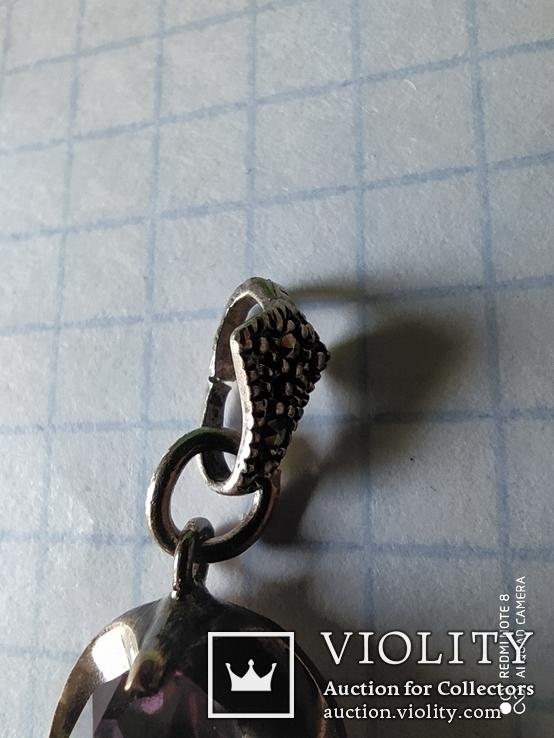 """Кулон.серебро 875""""., фото №4"""