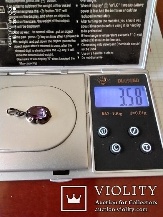 """Кулон.серебро 875""""., фото №7"""