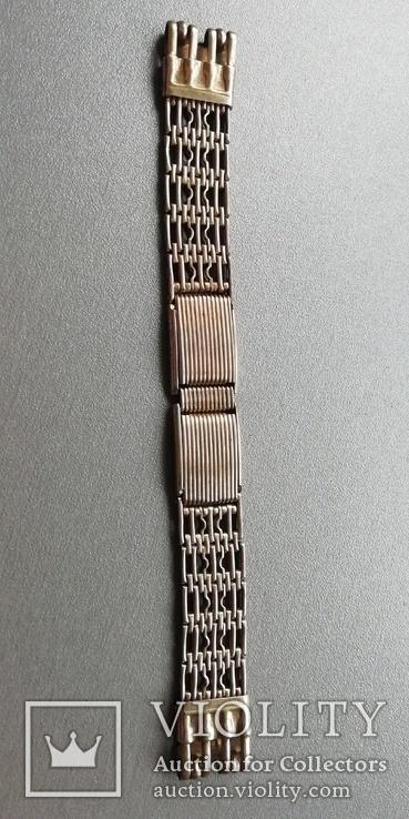 Браслет к наручным часам СССР, 875 пр., фото №2