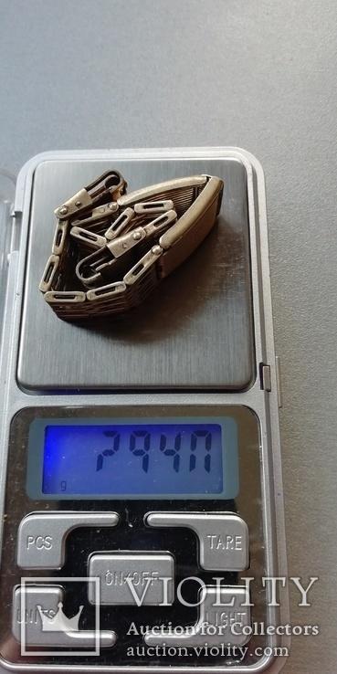 Браслет к наручным часам СССР, 875 пр., фото №4