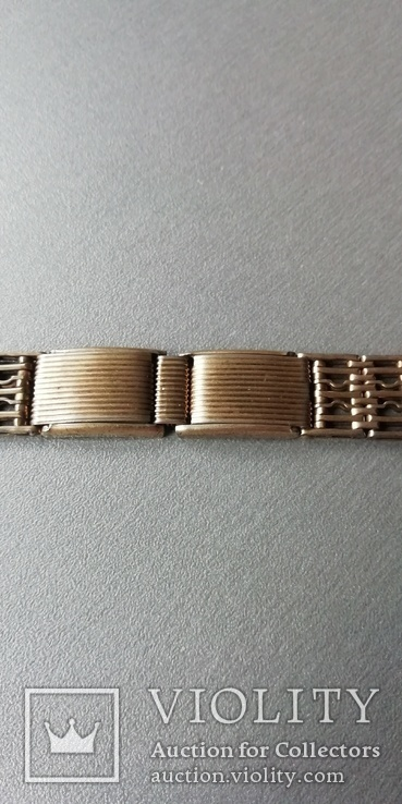 Браслет к наручным часам СССР, 875 пр., фото №12