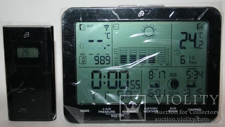 Домашняя метеостанция-ассистент Auriol с сенсорной панелью 2019 г.(Германия, фото №2