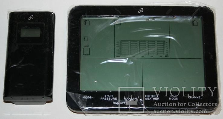Домашняя метеостанция-ассистент Auriol с сенсорной панелью 2019 г.(Германия, фото №8