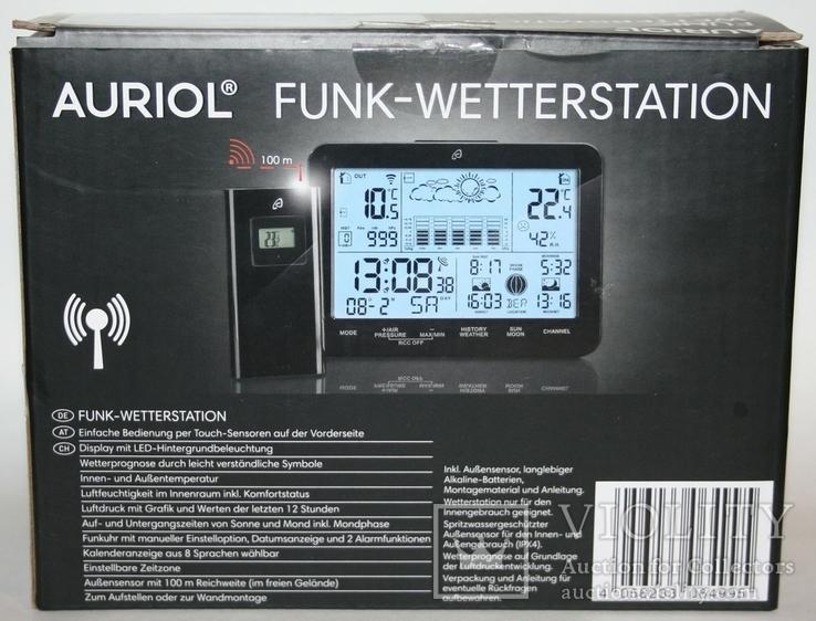 Домашняя метеостанция-ассистент Auriol с сенсорной панелью 2019 г.(Германия, фото №12