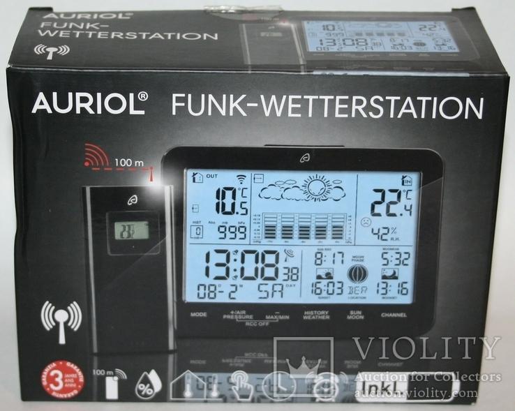 Домашняя метеостанция-ассистент Auriol с сенсорной панелью 2019 г.(Германия, фото №13