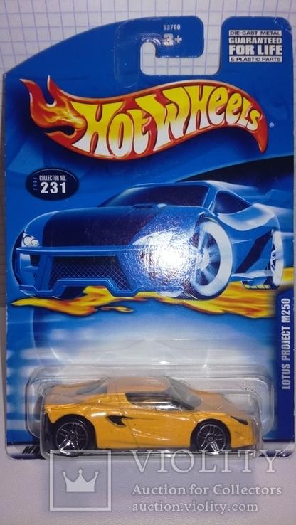 Hot wheels Lotus M250 2001 China, фото №2
