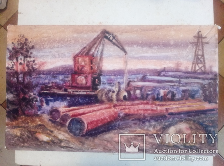 Стройка газопровода.Н.Нечвоглод.39-64см., фото №4