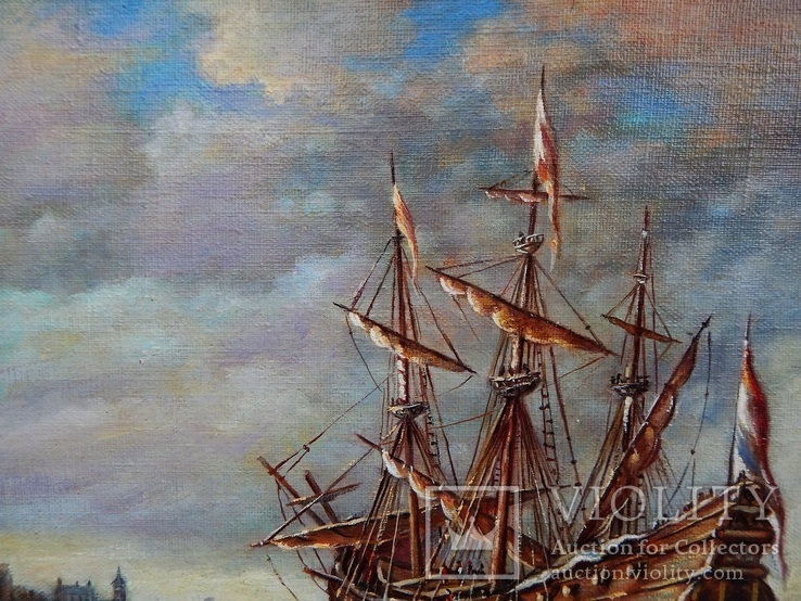 """Ships"" 30x40 2020, фото №3"