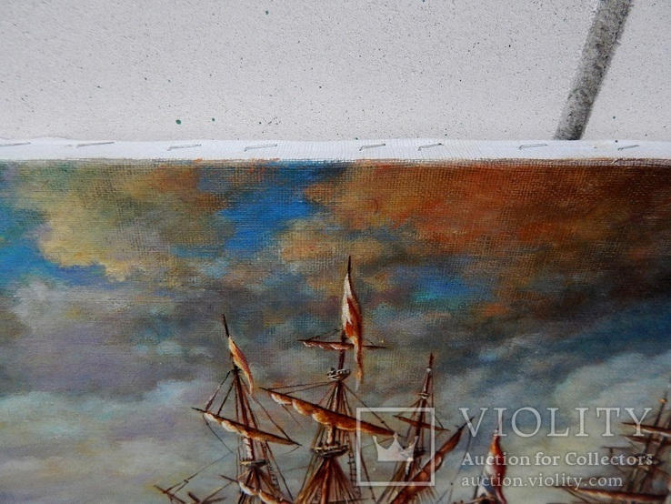 """Ships"" 30x40 2020, фото №5"