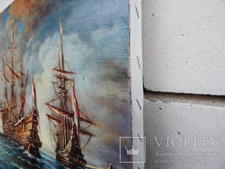 """Ships"" 30x40 2020, фото №6"