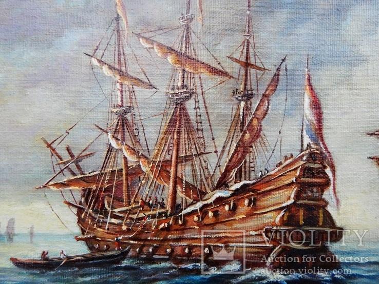 """Ships"" 30x40 2020, фото №7"