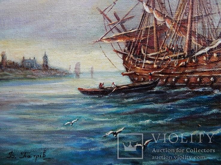 """Ships"" 30x40 2020, фото №8"