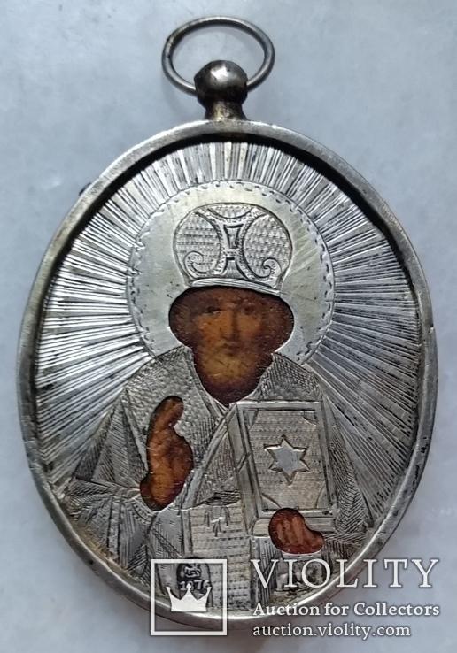 Іконка Микола Чудотворець, 84, 1876р., фото №2