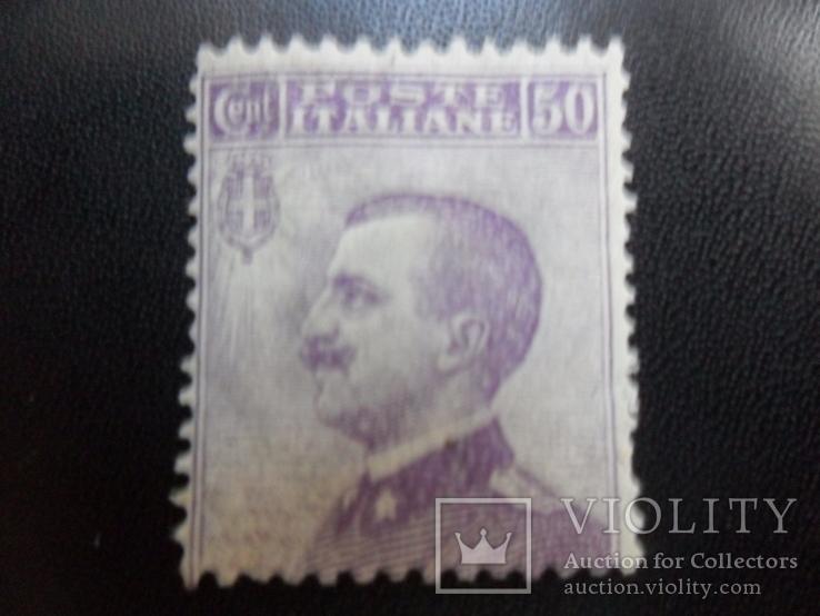 Италия. 1908 г. Король.  чистая.  МLН, фото №2