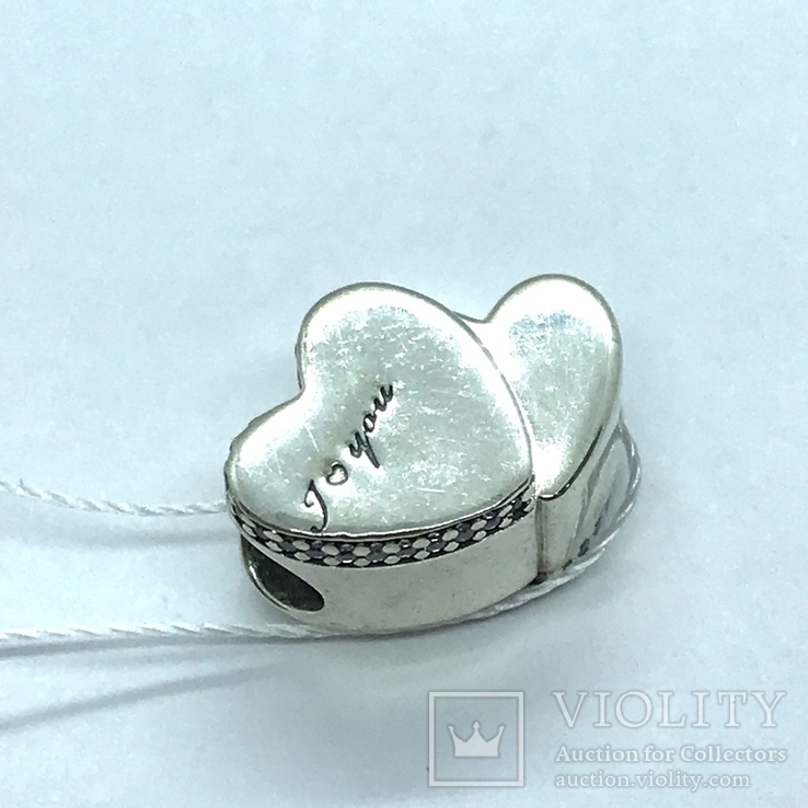 Шарм серебро Pandora, фото №2