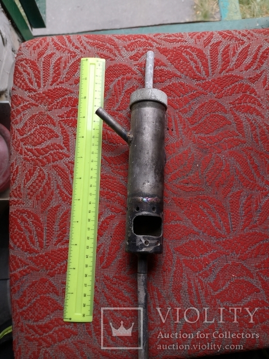 Металлическая приспособа самодельная нержавейка ракета, фото №4