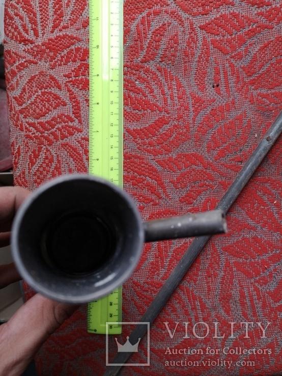 Металлическая приспособа самодельная нержавейка ракета, фото №8