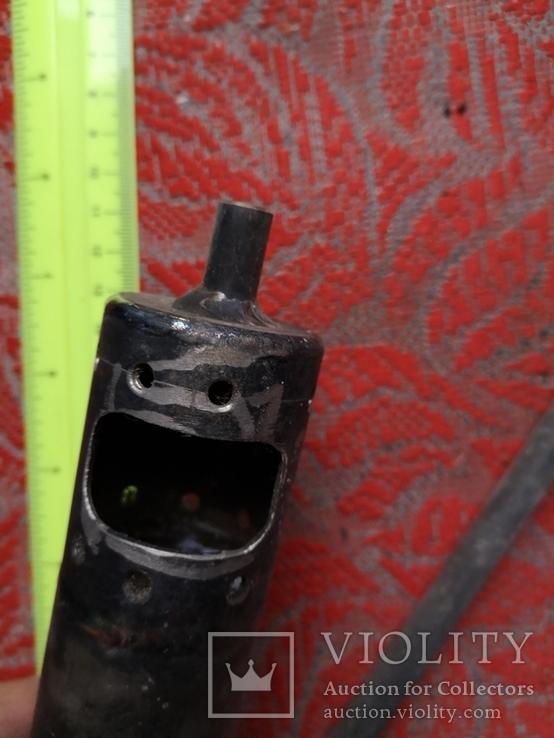 Металлическая приспособа самодельная нержавейка ракета, фото №9