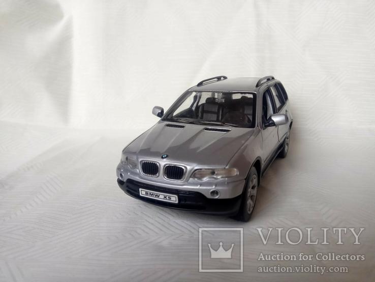 Автомодель BMW X5 1:24 Welly, фото №4