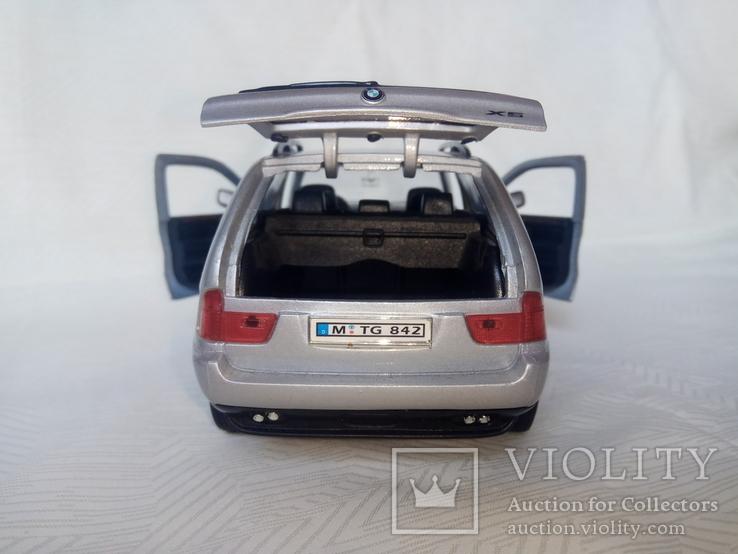 Автомодель BMW X5 1:24 Welly, фото №7