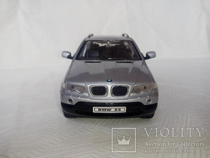 Автомодель BMW X5 1:24 Welly, фото №13