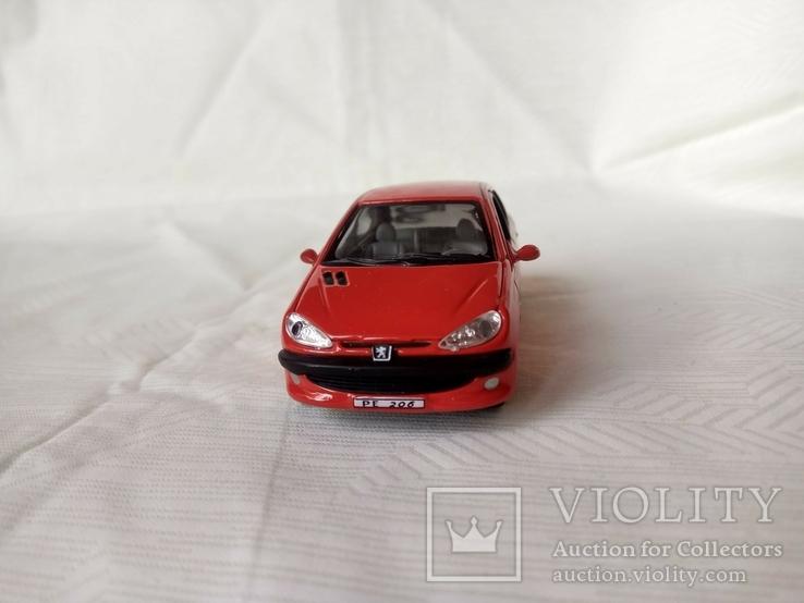 Автомодель Peugeot 206 1:43 Cararama, фото №3