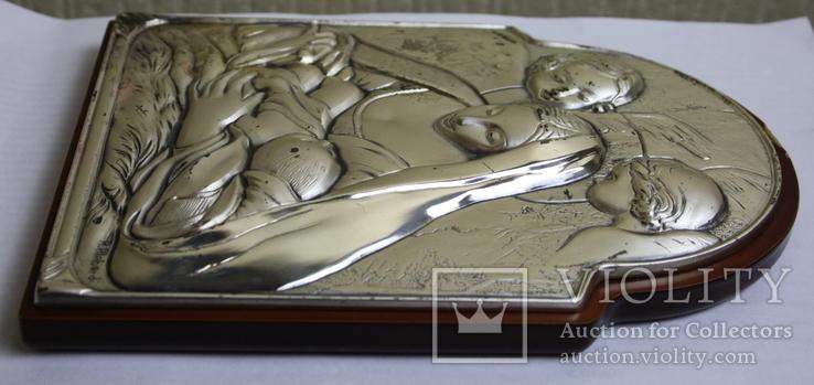 Икона серебро 925пр.   21х15, фото №11