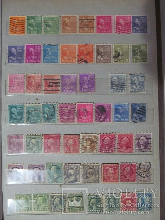 Старі марки США, фото №5