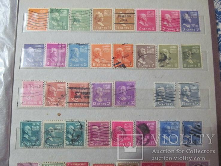 Старі марки США, фото №6