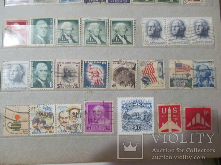 Старі марки США, фото №13
