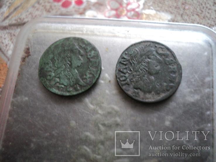Солиды 1664 1665 гг, фото №2