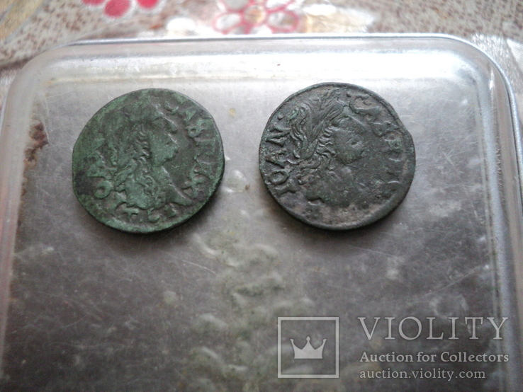 Солиды 1664 1665 гг, фото №3