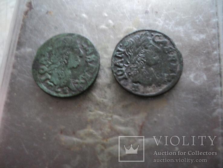 Солиды 1664 1665 гг, фото №4