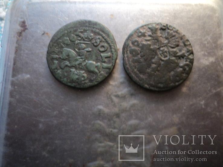 Солиды 1664 1665 гг, фото №5