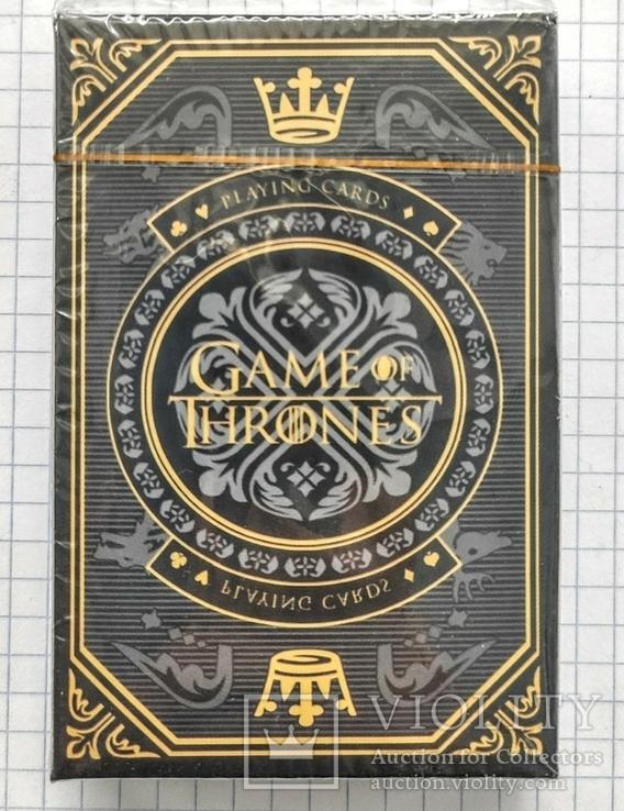 Игральные карты. Игра престолов. Game of thrones, фото №2