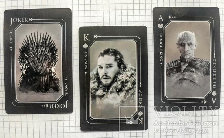 Игральные карты. Игра престолов. Game of thrones, фото №3