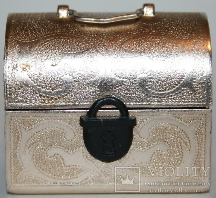 Сундучок-сувенир для драгоценностей (СССР), фото №2