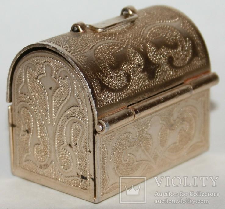 Сундучок-сувенир для драгоценностей (СССР), фото №4